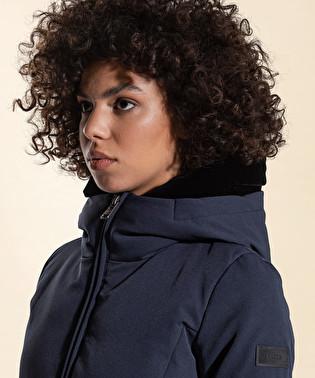 Down jacket in double fabric | Dekker