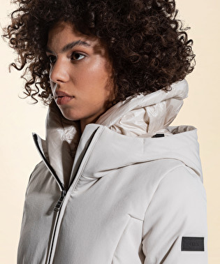 Down jacket in double fabric | Dekker