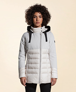 Double fabric down jacket | Dekker