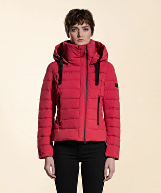 Stretch and opaque down jacket | Dekker