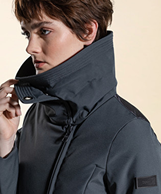 Smooth double fabric down jacket | Dekker