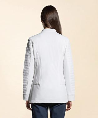 Superlight down jacket in nylon and Mandarin collar | Dekker