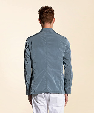 Crinkle-effect field jacket | Dekker