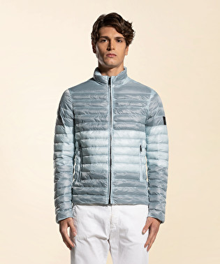 Frosted and ripstop down jacket | Dekker