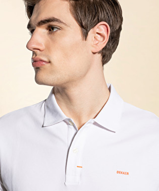 Piquet polo shirt | Dekker