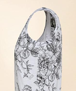 Canotta con stampa floreale e logo | Dekker