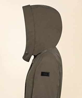 Lightweight cotton and nylon parka | Dekker