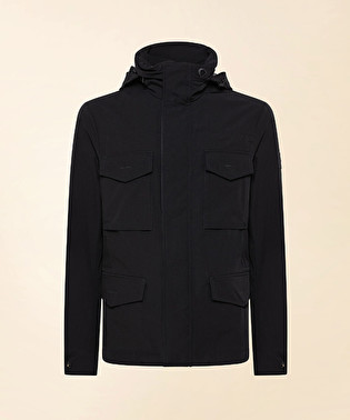 Field jacket in technical fabric | Dekker