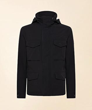 Field jacket in tessuto tecnico | Dekker