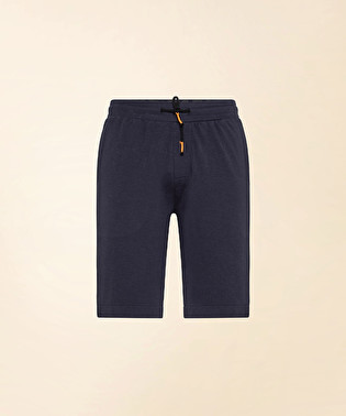 Cotton interlock Bermuda shorts | Dekker
